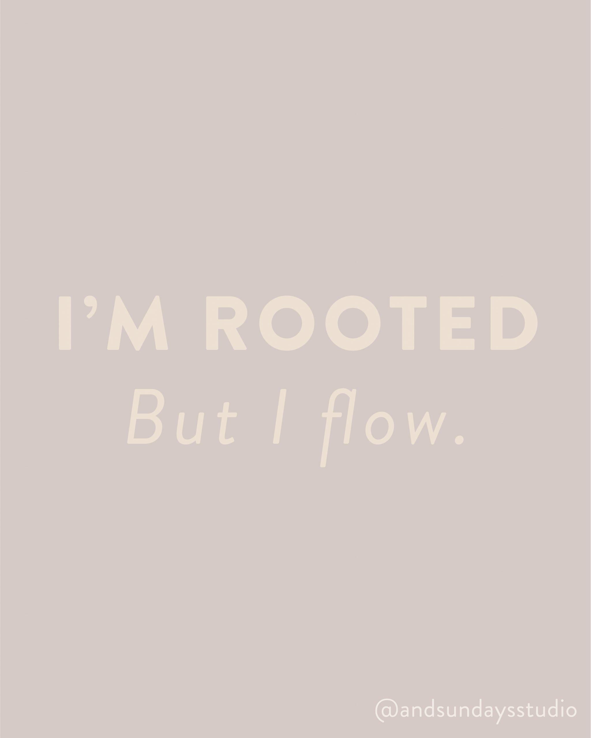 And Sundays sisällöntuotanto I'm rooted