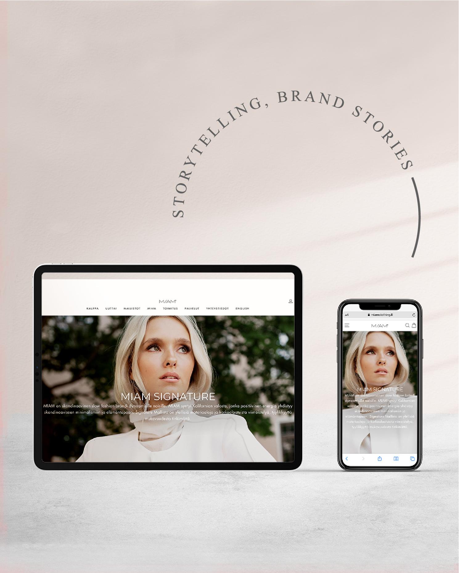 Brand story dor MIAM Clothing